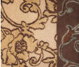 One of a Kind Custom Carpet Design | The Tuscany Vine Collection | IL